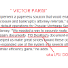 VICTOR PARISI ROBO-SIGNER CALLED OUT BY [NYSC] JUDGE LAURA JACOBSON: Equity One v. James 2006 (1)