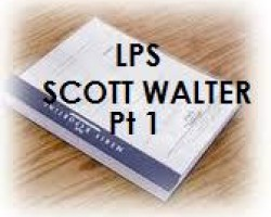 "FULL DEPOSITION TRANSCRIPT OF LENDER PROCESSING SERVICES ""LPS"" SCOTT A. WALTER PART 1"