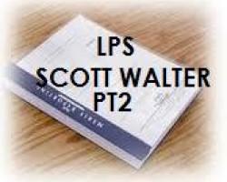 """FULL DEPOSITION TRANSCRIPT OF LENDER PROCESSING SERVICES SCOTT A. WALTER PART 2 """"STEVEN J. BAUM, P.C."""", """"O. MAX GARDNER"""", """"US TRUSTEE"""""""