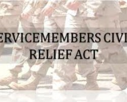 US House Committee on Veterans' Affairs Hearing Today: Alleged Violations of the Servicemembers Civil Relief Act (SCRA)