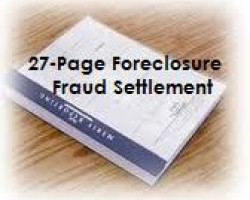 READ | The 27-Page Foreclosure Fraud Settlement Terms Document