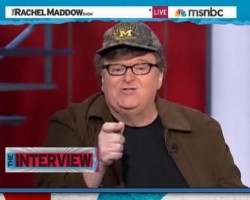 EXPLOSIVE | Michael Moore Addresses Wall Street 'Banksters', Brings Handcuffs