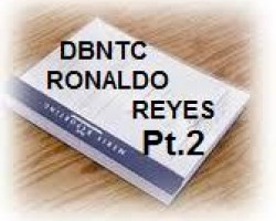 "PT. 2 ""NO TRUST LOAN TRANSFER"" DEPOSITION TRANSCRIPT OF DEUTSCHE BANK NATIONAL TRUST CO. VP RONALDO REYES"