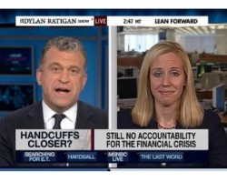 """Dylan Ratigan with Louise Story of NY Times """"Can We Trust The Regulators?"""""""