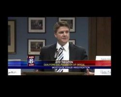 [VIDEO] Register of Deeds Jeff Thigpen Press Release on Mortgage Fraud
