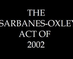 THE SARBANES-OXLEY ACT OF 2002 by Robert A. McTamaney