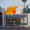 "Please support your local artist…""Fire Sale"""