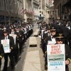 Photos: Airline Pilots Protest on Wall Street Tuesday, September 27, 2011