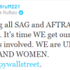 Actor and activist Mark Ruffalo shares his experience with #OccupyWallStreet, Calls Union Actors to Join Him