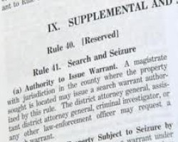 CA AG Harris (and others): Where Are the Search Warrants?
