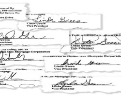 Bank forges signature, homeowner gets temporary victory
