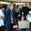 Presidential candidate Jill Stein and her VP running mate Cheri Honkala arrested during a protest of foreclosure giant Fannie Mae