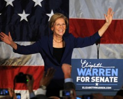 Look out, Wall Street: Elizabeth Warren is back, and this time as a U.S. Senator!!
