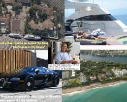 This is the litany of big-money items that David J. Stern has acquired from the foreclosure disaster