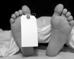 DEAD BODY PADLOCKED IN BANK OWNED HOUSE WHICH SOLD TO UNWITTING BUYER!