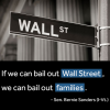 "Bernie Sanders: ""The business model of Wall Street is fraud."""