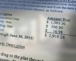 HOA sells Port Orange family's home over $2K debt