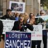 Backed by 'Occupy' activists, Loretta Sanchez criticizes Kamala Harris' signature mortgage settlement
