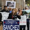 Backed by 'Occupy' activists, Loretta Sanchez criticizes Kamala Harris' signature mortgage settlement