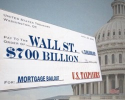 Taxpayers are still bailing out Wall Street, eight years later