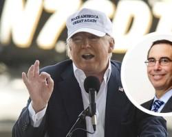Steven Mnuchin Is Donald Trump's Expected Choice for Treasury Secretary