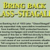 Bringing Back Glass-Steagall: Will Trump break up the big banks?