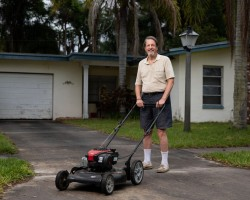 His lawn overgrew while he was tending to his mom's estate. Now, he faces foreclosure and a $30,000 fine.