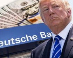 HELL YES!! DID DEUTSCHE BANK SWEEP POSSIBLE MONEY LAUNDERING BY TRUMP UNDER THE RUG?