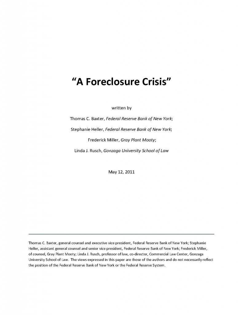 solving the foreclosure crisis two solutions essay Pakistan and india—two countries that contend 19 ways to solve the freshwater crisis experts name the top 19 solutions to the global freshwater crisis:.