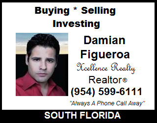 Damian Figueroa, South Florida Realtor, Real Estate Agent